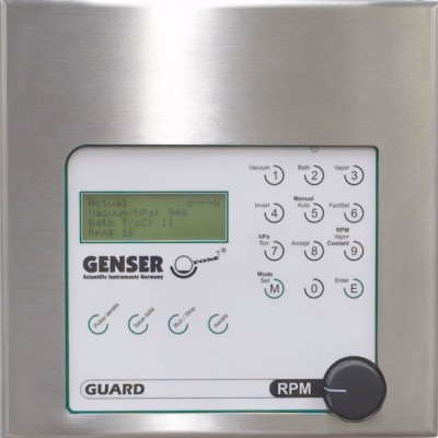 PILOTVAP Rotary Evaporator User Interface GUARD Genser