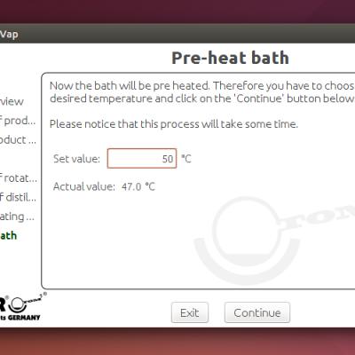 Sentinel: Pre-heat bath